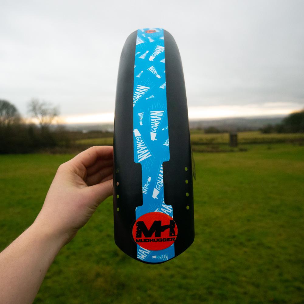 gowaan mudhugger mudguard blue